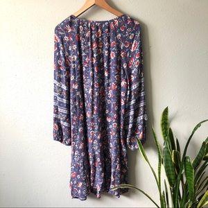 Floral Hippie India Dress